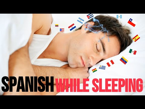 Learn Spanish While You Sleep Most Important Spanish Phrases and Words EnglishSpanish 10 Hours