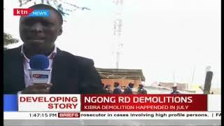 Ngong Road Demolitions raises tension