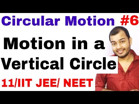 11 chap 4 || Circular Motion 06 || Motion in a Vertical Circle IIT JEE / NEET || Critical Velocity