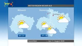 RTF.1-Wetter 10.08.2020