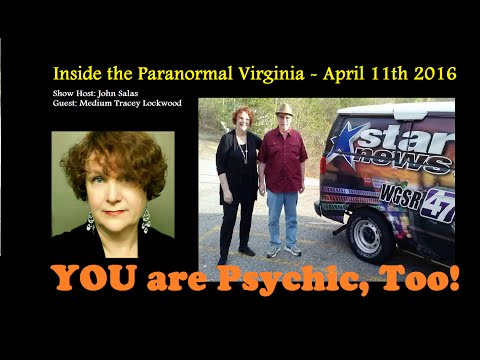 INTERVIEW: YOU ARE PSYCHIC, TOO (TV) - Medium Tracey Lockwood - TV