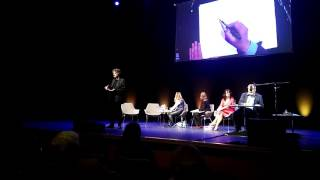 Neil Gaiman and Chris Riddell talk and draw!