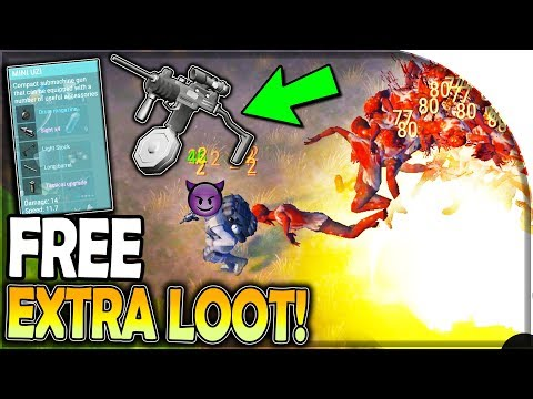 How to get FREE EXTRA LOOT (BEST Uzi) + Grenade vs. Witch in Last Day on Earth Survival