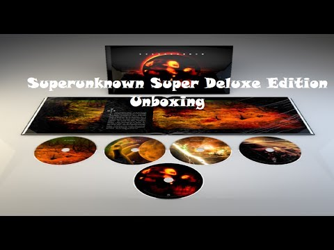 Superunknown Super Deluxe Edition Unboxing (10/6/14)