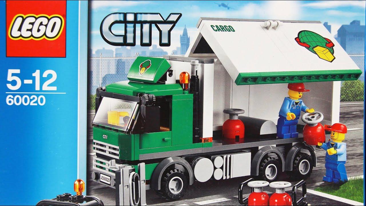 cargo truck ciężar243wka 60020 lego city www
