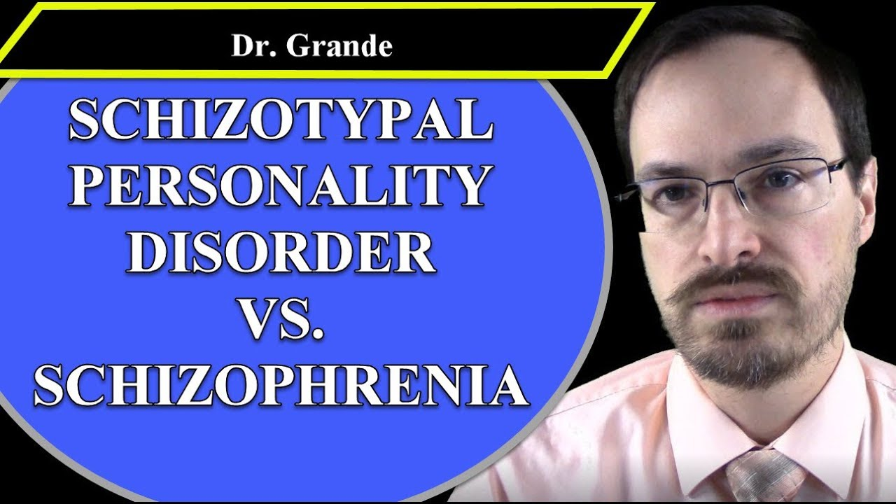Schizoid and schizophrenic are the same or different concepts