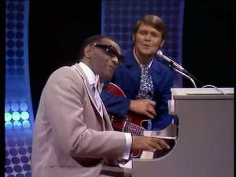 Glen Campbell & Ray Charles - Cryin Time (Live Goodtime Hour)