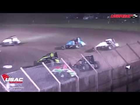 AMSOIL USAC National Sprint Cars at Gas City 5-16-15