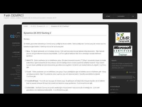 Fatih DEMİRCİ | Engineer / Solution Architect / Dynamics 365