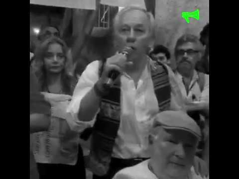 Bolsonaro em Show de facismo, racismo, e intolerância patrocinado pela Hebraica /RJ