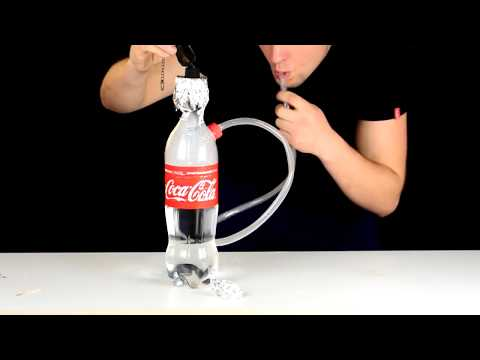 Cách làm bình SiSa bằng Coca Cola   Có thể hút sisa tại nhà mà không cần đi Bar