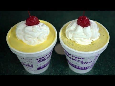 Fastest way to make ice cream cake batter milkshake without