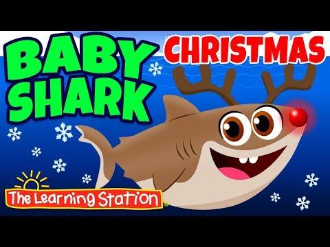baby-shark-christmas-🎅-christmas-shark-family-adventure-🎅-christmas-songs-by-the-learning-station