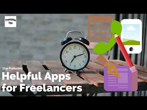 Freelance Translator Tips #3: Apps