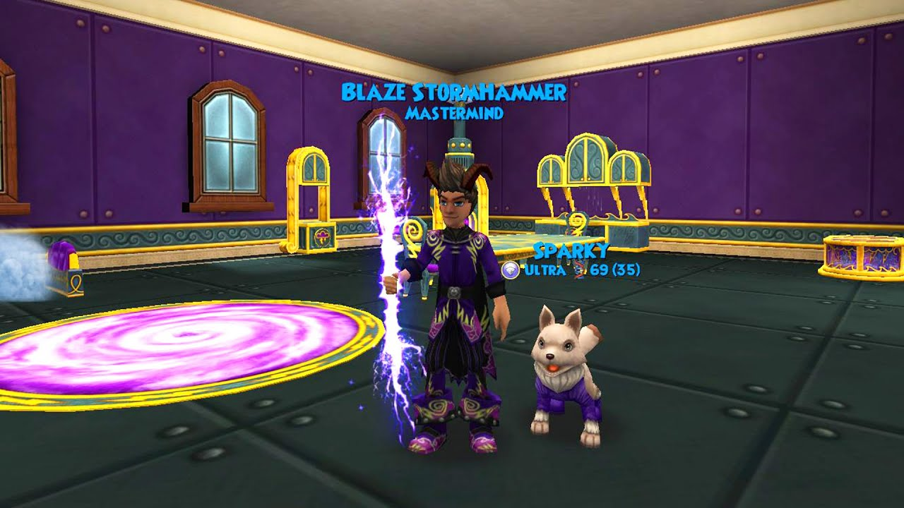 Wizard101 NEW Storm Furniture Sets YouTube