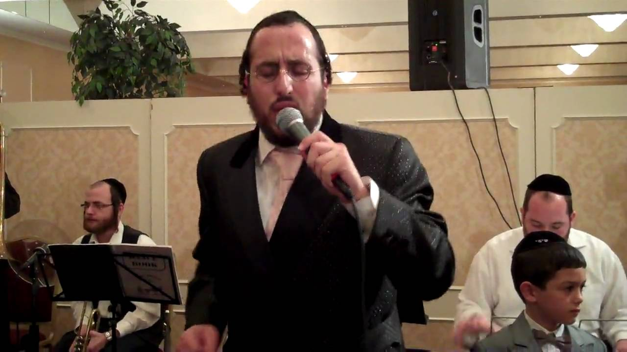 Lipa Schmeltzer sings at Michael Schnitzler son's Wedding