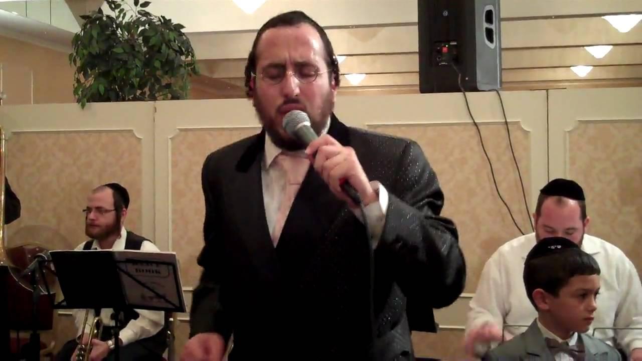 Lipa Schmeltzer sings at Michael Schnitzler son's Wedding
