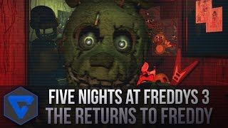 Five Nights At Freddy'S 3 : The Return To Freddy - Five Nights And Freddy Fangame