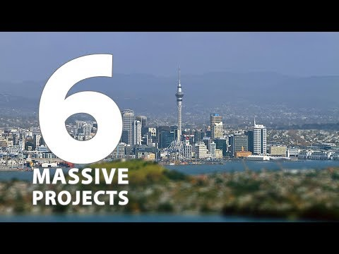 Auckland City, New Zealand a Billion Dollar Transformation Plan