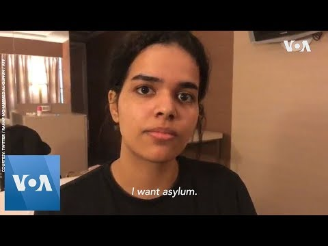 Rahaf Mohammed Alqunun: Saudi woman fleeing family allowed to stay in Thailand