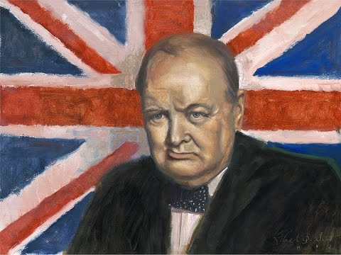 WWI Balfour Declaration: British support for Zionism - Colonial Secretary Winston Churchill