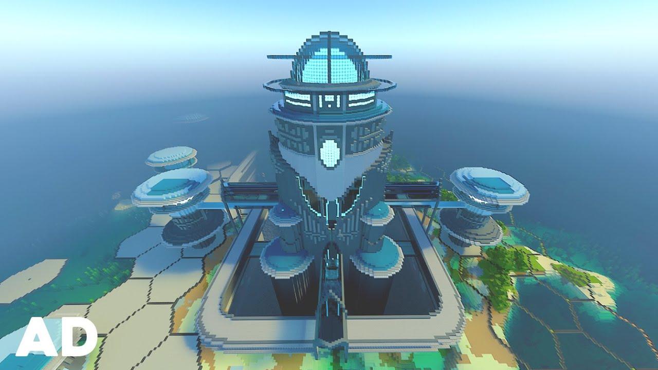 Mega Base In Minecraft Rtx Youtube