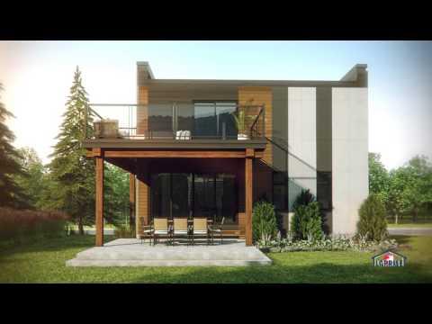 Pour maison laprise projet quartier exalt lac beauport youtube for Maison laprise