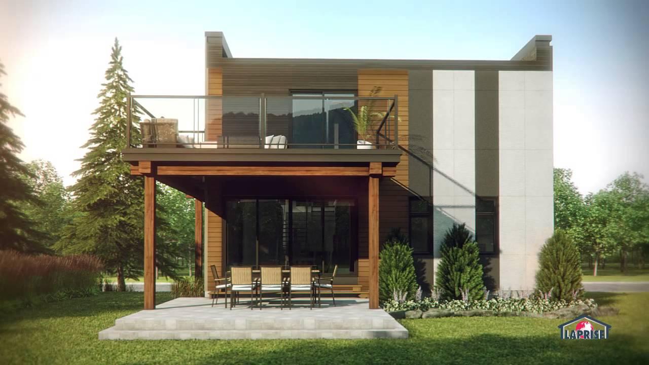 Emejing maison moderne bonneville gallery design trends for Constructeur maison container