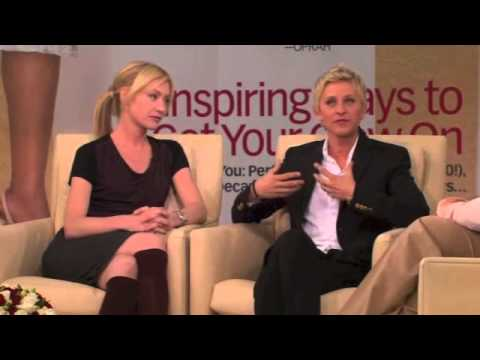 Ellen Degeneres and Portia De Rossi on Oprah  PART 45