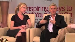 Ellen Degeneres and Portia De Rossi on Oprah - PART 4/5