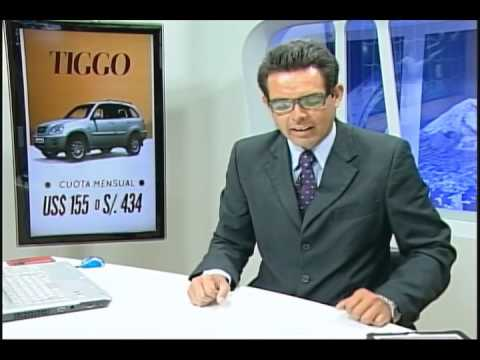 QUATRO TELEVISION(EX VIVA TV) VivaNoticias Cherry Mension con LCD CANAL 04 AREQUIPA