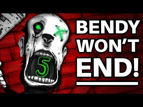 Why Bendy WON'T BE ENDING with Chapter 5! (Bendy and the Ink Machine Chapter 5 Explained / Theory)