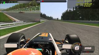 rFactor 2 - Formula Two 2012 - Spa Francorchamps - HD Gameplay