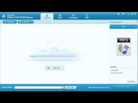 Aimersoft Video Converter Ultimate - Convert Video and DVD