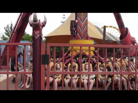 Gold Coast Dreamworld Ride - The Claw