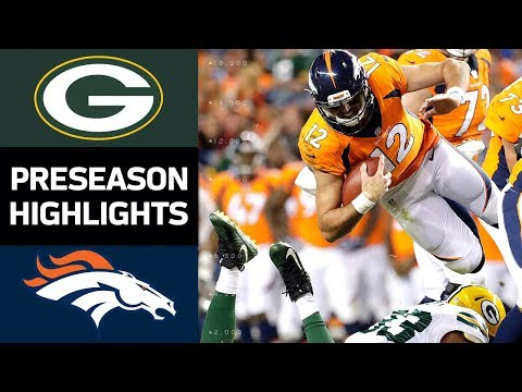 Packers vs. Broncos | NFL Preseason Week 3 Game Highlights