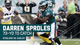 Carson Wentz Hits Darren Sproles for 73-Yard TD! | Steelers vs. Eagles | NFL