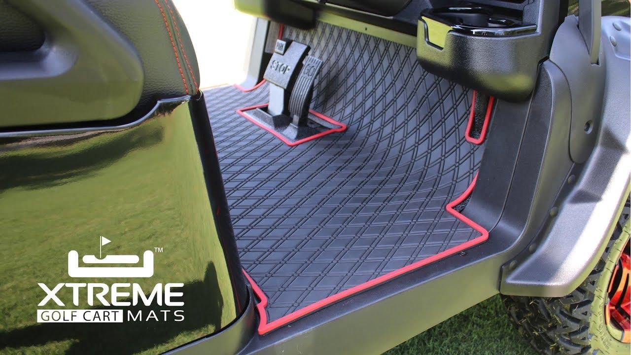 Yamaha Dr2 Full Coverage Floor Mats For Golf Carts Xtreme Mats Golf