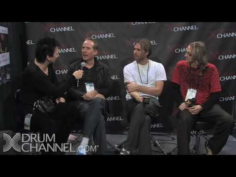 Josh Freese, Brooks Wackerman & John Wackerman - NAMM 2010