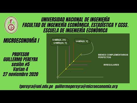 Microeconomía I Varian 4: utilidad