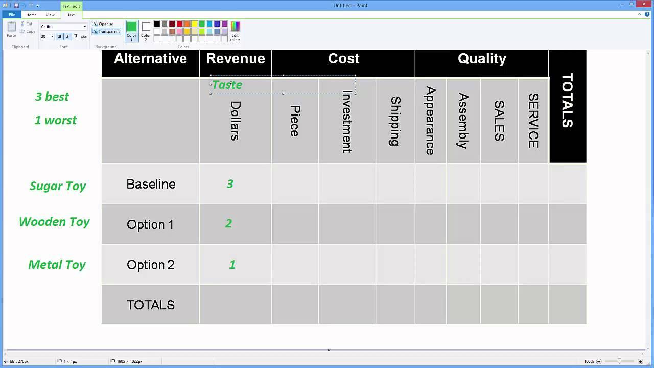 pugh matrix excel template - shefftunes.tk