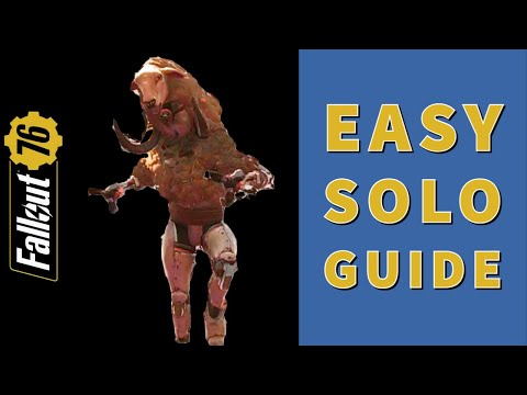 ENCRYPTID 🐏 Event (Imposter Sheepsquatch) Easy Solo Guide - Stealth Edition - Fallout 76 Steel Dawn |