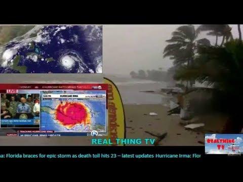 Live State of Emergency Evacation Hurricane Irma,