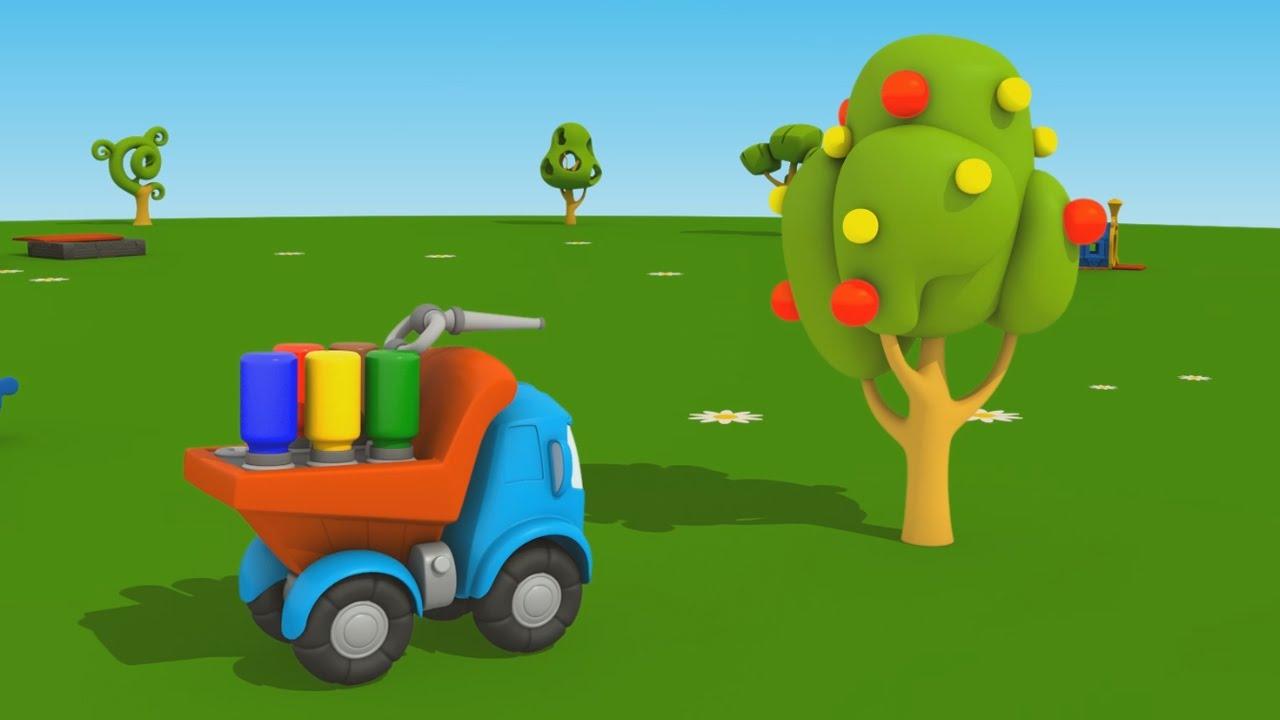 Cartoni Animati Per Bambini Leo Junior E L Albero Di Mele