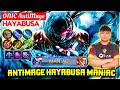 ANTIMAGE HAYABUSA MANIAC [ Top Global Hayabusa ] ONIC AntiMage - Mobile Legends
