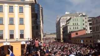 После Парада Победы 2015 , Москва Красная Площадь