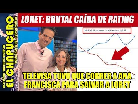 ¡CRISIS EN TELEVISA! Para salvar a Loret, corren a Ana Francisca Vega