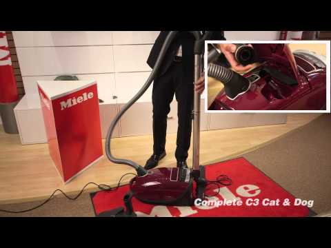 Miele C3 Cat and dog Vacuum Demo.