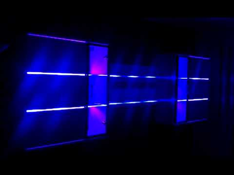 rgb led wohnwand beleuchtung mito youtube. Black Bedroom Furniture Sets. Home Design Ideas