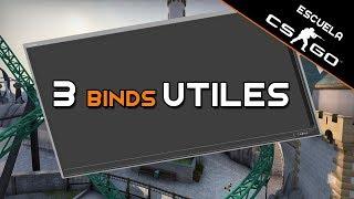 Escuela CS:GO - 3 binds ÚTILES